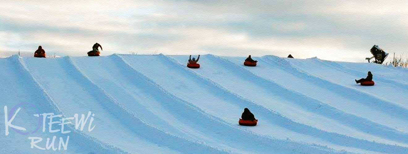 photo of snow tubing at Koteewi Run